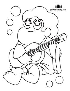 sadie and lars Colouring pages Pinterest Steven universe
