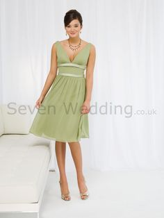 bridesmaid - dress style (champagne/daffodil/sage green)