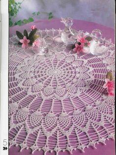 Melhor do Crochê: Enfeite sua casa ♥