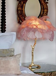 Room Inspiration, Interior Inspiration, Feather Lamp, Aesthetic Rooms, Dream Bedroom, House Design, Interior Design, House Styles, Home Decor