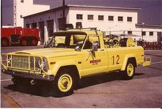 USAF   Flickr - Photo Sharing!  First fire truck I learned to drive.  P-13 ramp patrol vehicle.
