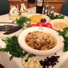 Each year, Andrea's Restaurant in Metairie creates a Sicilian menu to celebrate St. Joseph's Day because he is the patron saint of Sicily and looms large in the Italian community.