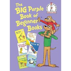 The Big Purple Book of Beginner Books, I love these bind up of Favorite Eastman, Seuss . Used Books, Books To Read, Lds Books, Purple Books, Beginner Books, Reading Levels, Family Game Night, Go Camping, Book Series