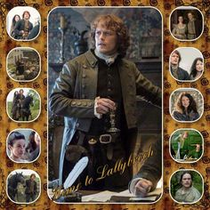 Home to Lallybroch montage | Outlander S1bE12 'Lallybroch' on Starz | Costume Designer TERRY DRESBACH www.terrydresbach.com
