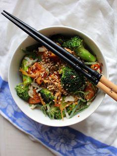 Maustemittakaava: Inkivääri-parsakaalikulho ja herkullisen tofun salaisuus