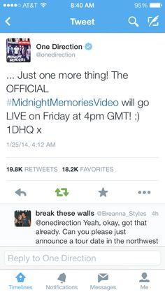 OMg!!! TELL ANYONE AND EVERYONE! VEVO, WE'RE BACK!<< I'm soooooooo excited!!!!!!!!!!!