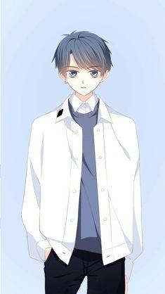 Very cool and cold boy🔪 Manga Cute, Manga Boy, Manga Anime, Anime Art, Cool Anime Girl, Anime Child, Anime Love Couple, Anime Poses, Anime People