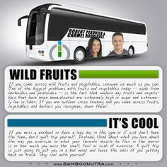 Nutrition & Fitness Tip - Wild Fruit & It's Cool