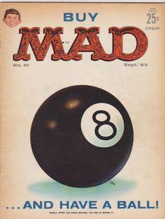 Mad Magazine No. 81, September 1963 - cover