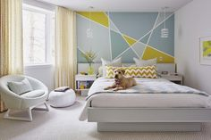 7 tips to stretch your decorating dollar! Sarah Richardson Design graphic paint design