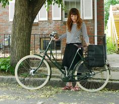 Wald Rear Folding Baskets, Office Bag by Lovely Bicycle!, via Flickr