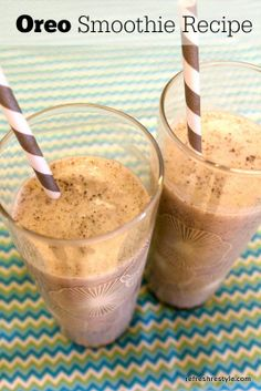 Easy and Delicious Oreo Smoothie (1) From: Refresh Restyle, please visit