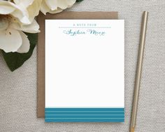 Personalized Stationery. Personalized Notecard Set. Personalized Stationary. Personalized Note Cards. Personalized. Stationery. A Note From. by DapperPrintsShop on Etsy https://www.etsy.com/listing/212636068/personalized-stationery-personalized
