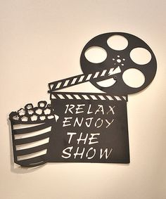 Another great find on #zulily! Black Iron Movie Projector Wall Décor #zulilyfinds