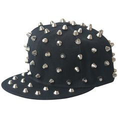 2015 Hip Hop Snapback Baseball Cap Hats For Men Cappello hand sewn spike Gorras Planas Casquette Gorras Snapback