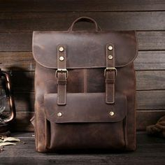 Luxurious Rustic Leather Saddle Bag Backpack – Looking Good Products #saddlebag #backpack #leather