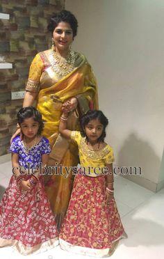 Viranica Manchu Uppada Tissue Saree | Saree Blouse Patterns