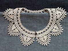 レース編み*付け襟の画像3枚目