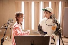 Jimin and Xiumin work together for 'Call You Bae' filming! | allkpop.com