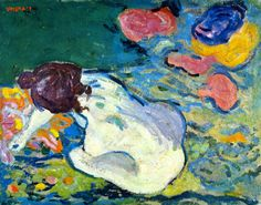 Nude in the Garden  -   Louis Valtat 1894