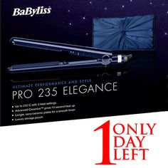 [ENDING SOON] ONLY 1 DAY LEFT to #Win 1 x #BaByliss Pro 235 Elegance Straightener Gift Set worth RRP £80.00 ***** Apply before midnight today @ http://www.beautyontrial.co.uk/news/competitions-a-prizes/275/e-28-02-15-win-1-x-babyliss-pro-235-elegance-straightener-rrp-80-00 ***** The winner will be announced next week. Good luck, everyone! *****  #accessories #hair #tool #straightener #gift #bblogger #giveaway #competition  #beautyontrial #babyliss