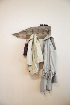 Rustic coat rack reclaimed wood garment rack entryway | Etsy