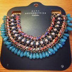 My first Zara necklace