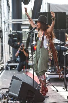 Erykah Badu at Coachella, 2011