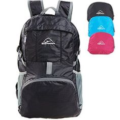 746d73991393 Hopsooken 30L Ultra Lightweight Travel Water Resistant Packable Backpack  for Hiking Cycling Sports. Handy Lifetime