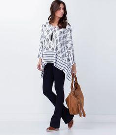 Blusa feminina  Modelo bata  Estampa floral  Marca: Marfinno  Tecido: malha  Composição: 100% viscose  Modelo veste tamanho: U         COLEÇÃO VERÃO 2016         Veja outras opções de    blusas femininas.