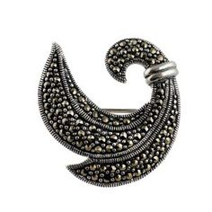 Sterling Silver Brooches India Jewellery Marcasite Length : 1.90 cm: ShalinCraft: Amazon.co.uk: Jewellery