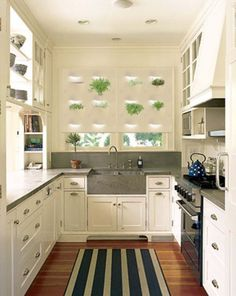 ARTICLE: Loving A White Kitchen   Image Source: Better Homes & Gardens and  Home Design Find    CLICK TO READ... http://carlaaston.com/designed/loving-a-white-kitchen