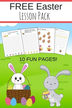 FREE Easter Printable Pack! - The Relaxed Homeschool