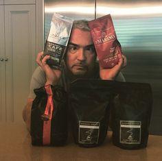 Cesar <3's  coffee!