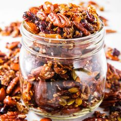 Perfect Paleo Granola Granola m&s granola square nutrition Paleo Recipes, Gourmet Recipes, Atkins Recipes, Egg Recipes, Snack Recipes, Paleo Granola Recipe, Paleo Protein Powder, Vegetable Prep, Paleo Breakfast