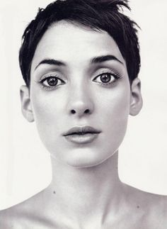 The one and only, Winona Ryder. #freshface