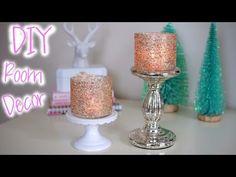 DIY: Cómo decorar recipientes con purpurina de color http://ini.es/1wDVcO7 #DecorarConPurpurina, #DIY, #Manualidades