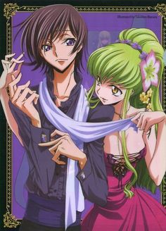 Code geass clear file folder promo Japan Lelouch C.C. CLAMP