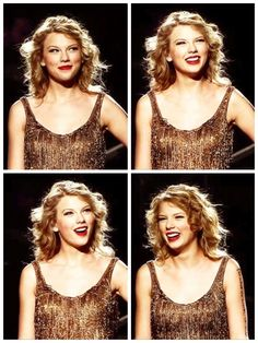 Taylor Swift - Speak Now World Tour- this is the part where she stands and listens to the crowd scream