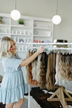 My love for extensions was born after owning my first HaloCouture Halo 4 years ago. The color was perfect. Halo Couture Extensions, Halo Extensions, 20th Anniversary, Anniversary Parties, Extension Hairstyles, Your Hair, Salons, Photoshoot, Sun