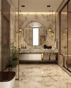 Luxury Bathroom Master Baths Photo Galleries is enormously important for your home. Whether you choose the Small Bathroom Decorating Ideas or Luxury Bathroom Master Baths Beautiful, you will create the best Luxury Bathroom Ideas for your own life. Modern Bathroom Design, Bathroom Interior Design, Interior Decorating, Decorating Ideas, Decor Ideas, Modern Luxury Bathroom, Minimalist Bathroom, Luxury Bedroom Design, Bath Design