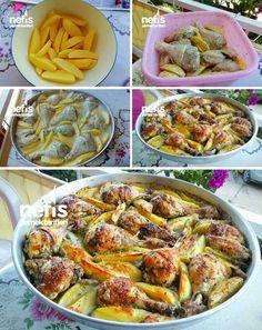 Parmak Yedirten Mayonez Kekik Soslu Tavuk Patates Tarifi nasıl yapılır? 13.409 kişinin defterindeki bu tarifin resimli anlatımı ve deneyenlerin fotoğrafları burada. Yazar: Nesli'nin Mutfağı
