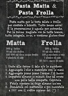 Pasta Matta e Pasta Frolla Vegan-in-Italy | Ricette Veloci