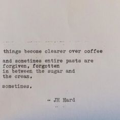 Bold black and weak tan, cold wind and long talks watching people walk by... you never know what will happen.. #CoffeeQuotes