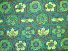 Conran 'Prince of Quince' iconic 1960s fabric - available from Rainbow Vintage Home online shop