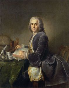 "history-of-fashion: ""1740 Antoine Pesne - Charles Étienne Jordan """