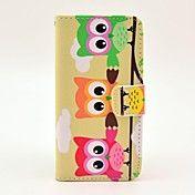 Fargerik Owl Pattern Full Body Leather vanske... – NOK kr. 69 Iphone 5c Cases, Iphone 4, Cheap Iphone 5, Owl Patterns, Full Body, Pu Leather, Samsung Galaxy, Card Holder, Owls