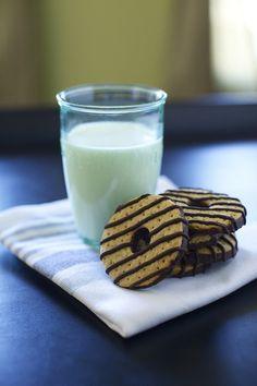 fudge striped cookies