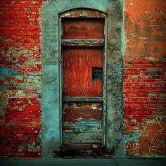 Colored door