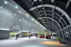 Taipei MRT Daan Park Station,© Che Fu Chang Architects